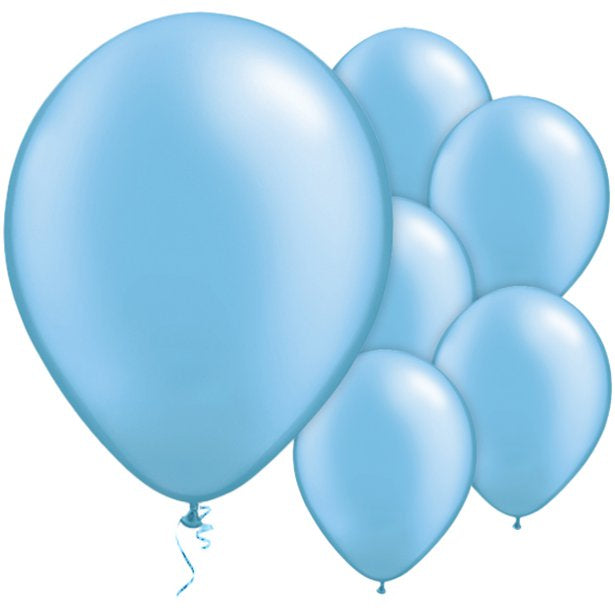 Balloon Latex Pearl - Azure Blue 11''