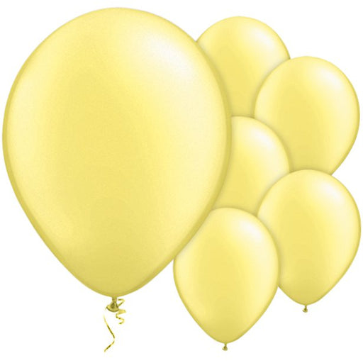 Balloon Latex Pearl - Lemon Chiffon 11''