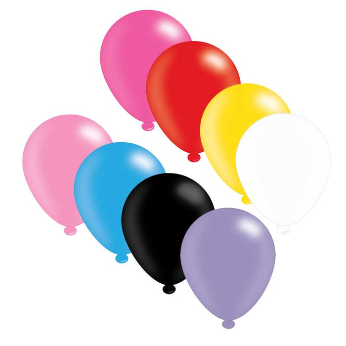 Balloons Latex - Assorted Colours - 25pk
