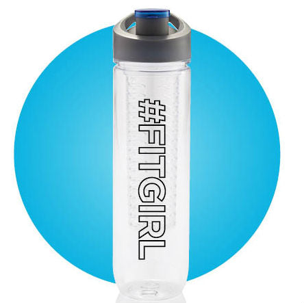 Fitgirl Fruit Infuser - Water Bottle