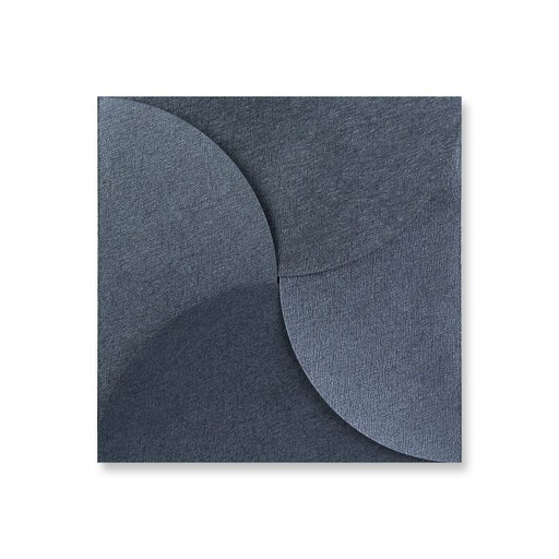 Envelope Pouchette - Mid Grey Brocade - 145x145mm