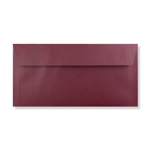 Envelope - Aubergine Pearlescent - DL - 110x220mm