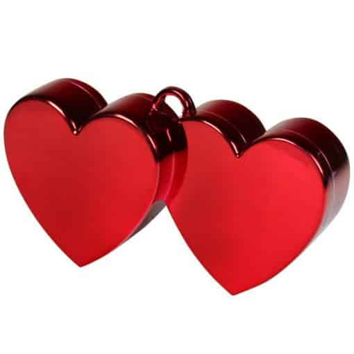 Red Hearts Foil Balloon Weight