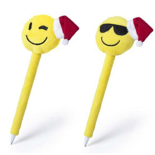 Smiley Santa Pen