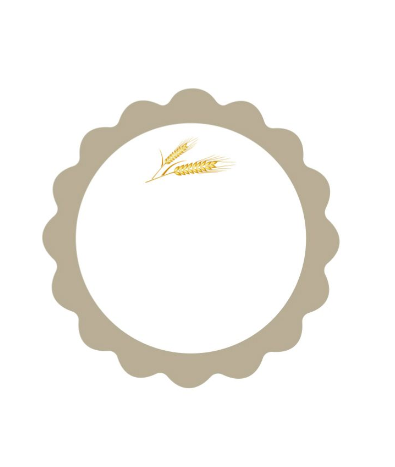 Beige Holy Communion Labels
