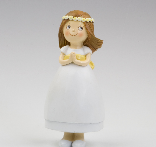 Communion Yellow Belt Cake Topper