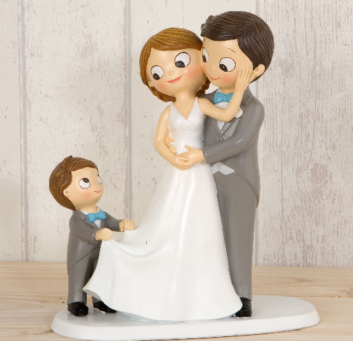 Cake Topper Pop&Fun With Little Boy 21.5 cm