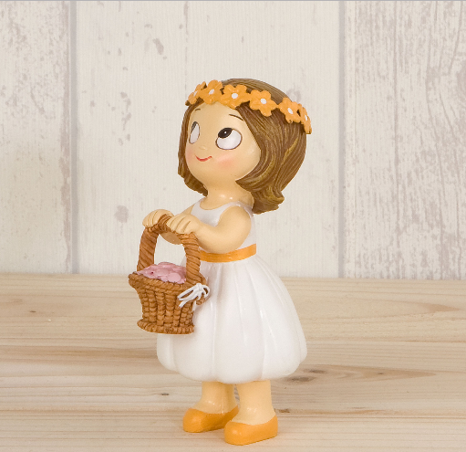Cake Topper Pop&Fun Little Girl with Basket