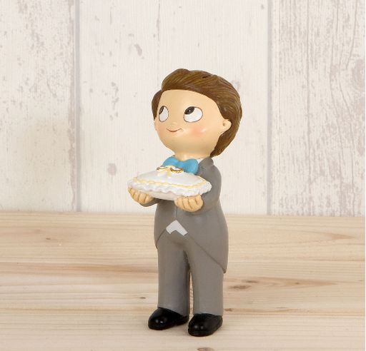 Pop&Fun Little Boy with Pillow Cake Topper