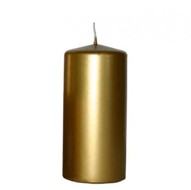Chapel Candle - Gold -  200x70mm