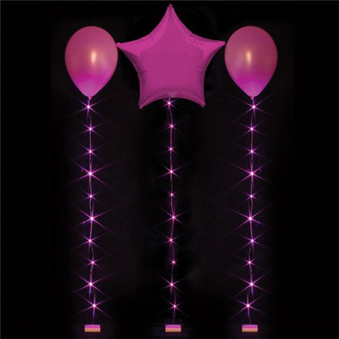 Accessories Hot Pink Balloon Lights - 1M