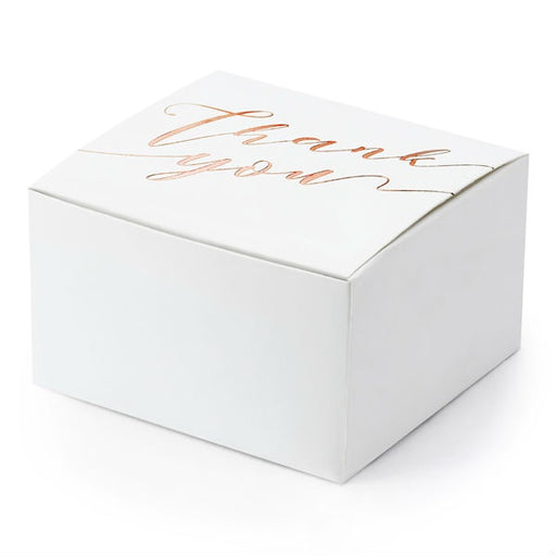 Boxes - Thank You - 10pk - Rose Gold