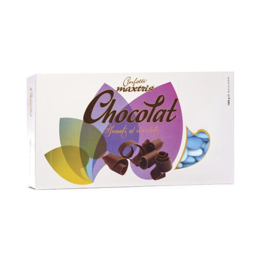 Dark Chocolate Dragees - Blue Shades - 1kg