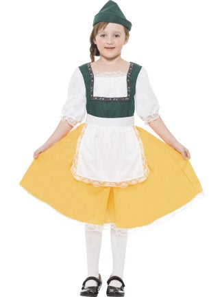 Bavarian Girl - Child Costume - Medium