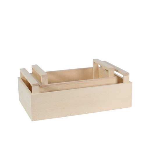 Wooden Crate - Set x 2