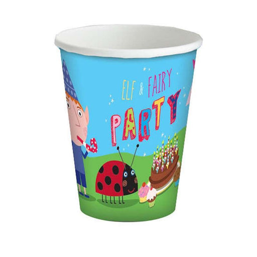 Ben & Holly Cups - 180Ml Paper Party Cups