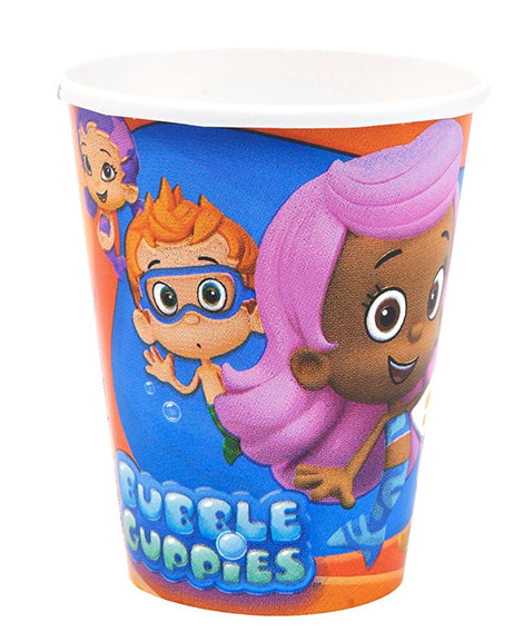 Bubble Guppies Cups - 255Ml Party Cups