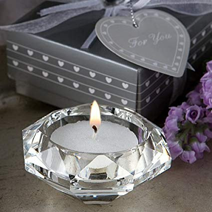 Disc 2250 Crystal Candle Holder