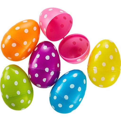 Large Polka Dot Fillable Eggs - 8cm