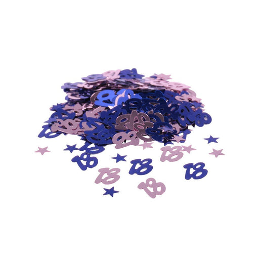 Table Confetti - 18th Birthday - Blue 14g