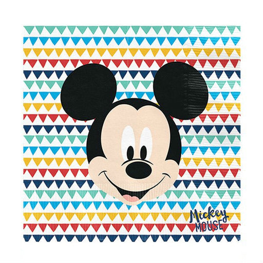 Lunch Napkins - Mickey Awesome - 20pk