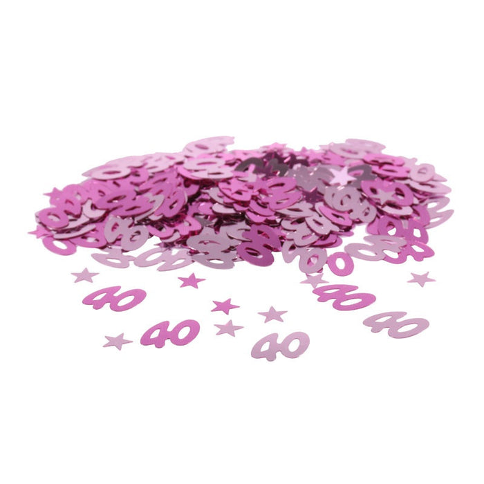 Table Confetti - 50th Birthday - Pink 14g