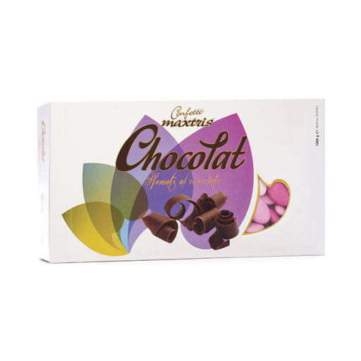 Dark Chocolate Dragees - Pink Shades - 1kg