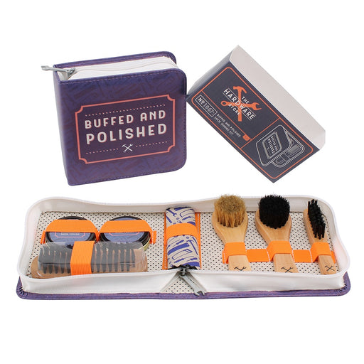 The Hardware Store Buffed and Polished Shoe Kit
