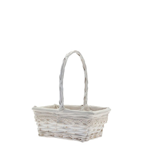 Rectangle Victoria Basket with Handle