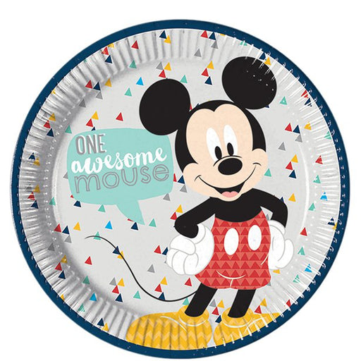 Lunch Plates - Mickey Awesome - 20pk