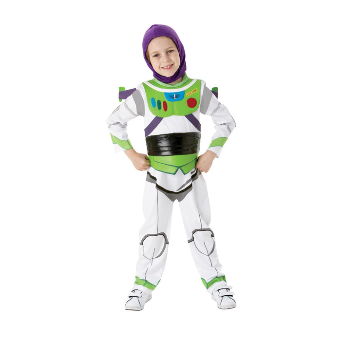 Buzz Lightyear Deluxe - Child Costume-Large