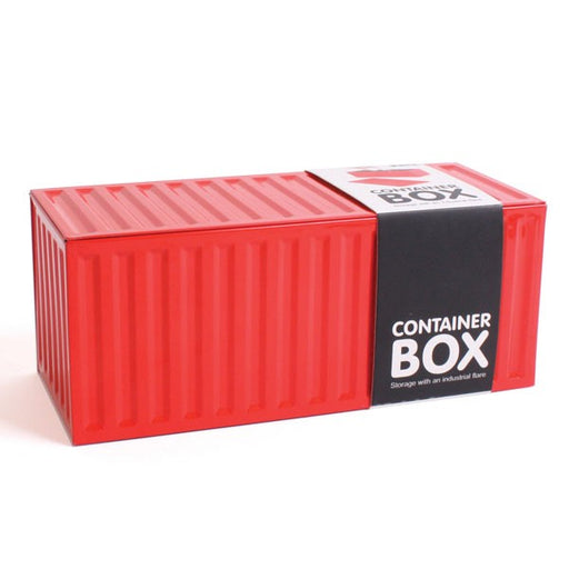Container - Box - Red