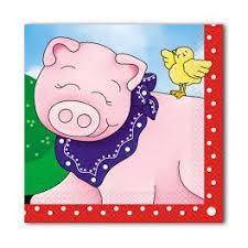 Farm Friends Party Napkins 2Ply