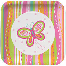 Butterfly Sparkle Plates