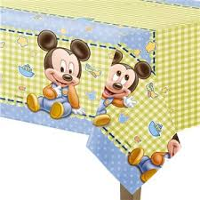 Mickey 1st Birthday Tablecover