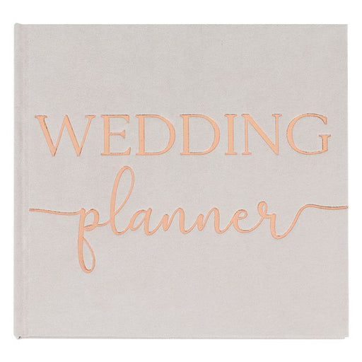 Grey Suede Wedding Planner