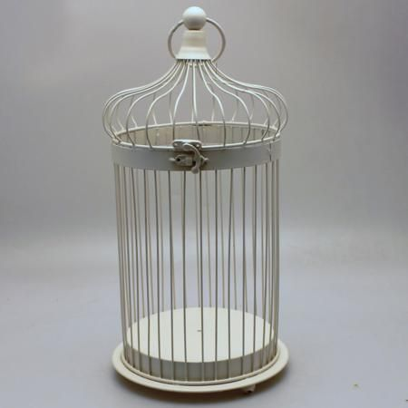 Bird Cage - Cream (H 44.5cm)