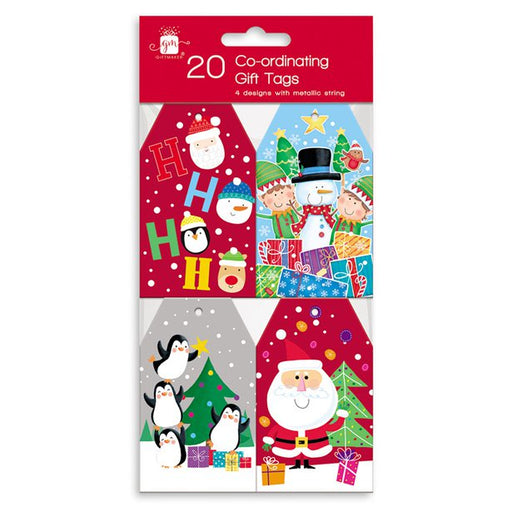 Novelty Co-ordinating Christmas Gift Tags