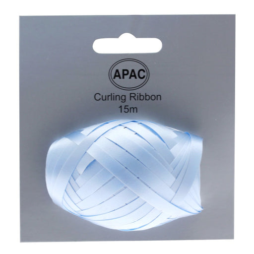 Ribbon Cop on Header - Light Blue - 15m