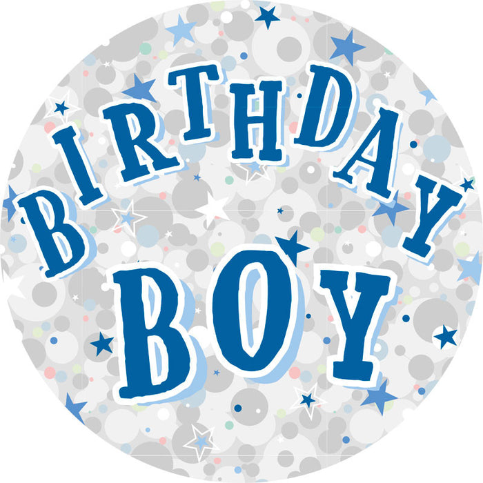 Birthday Boy Party Badge (15cm)