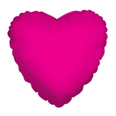 Balloon Foil Heart Shape - Hot Pink 18''