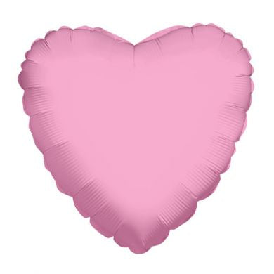 Balloon Foil Heart Shape - Baby Pink 18''