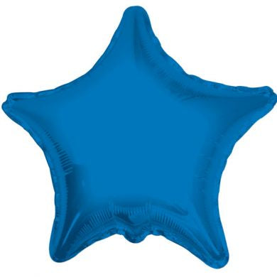 Balloon Foil Star Shape - Royal Blue 18''