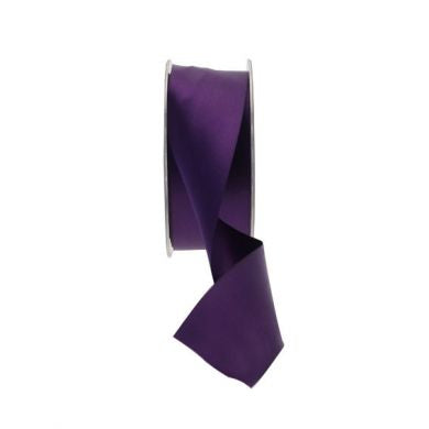Satin Ribbon - 38mm - Purple