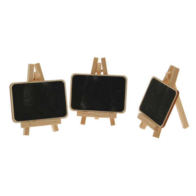 3 Small Blackboard Easel Natural