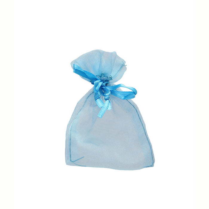 Bags Organza -  Turquoise - 10pk