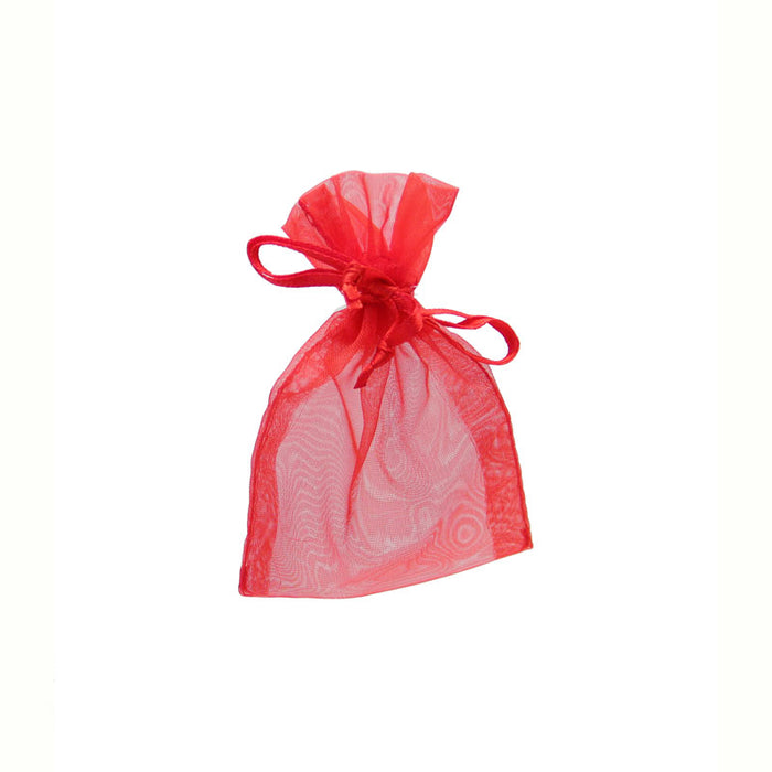 Organza Bags Red 10pk