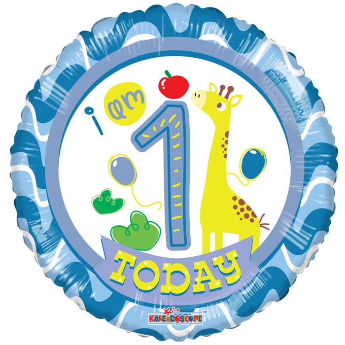 1st Birthday Boy Balloon (18 Inch)