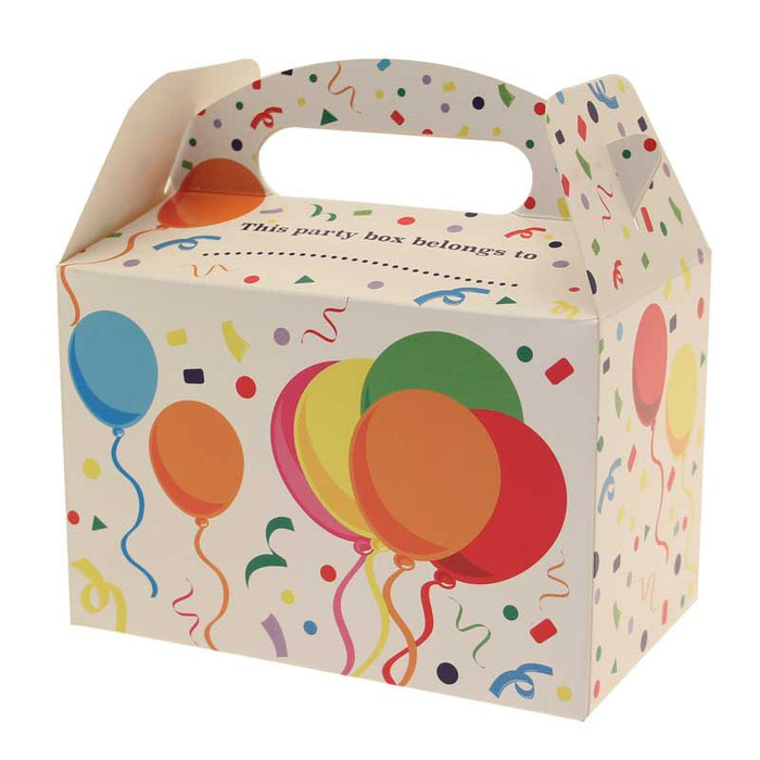 Party Boxes - Balloons - 6pk