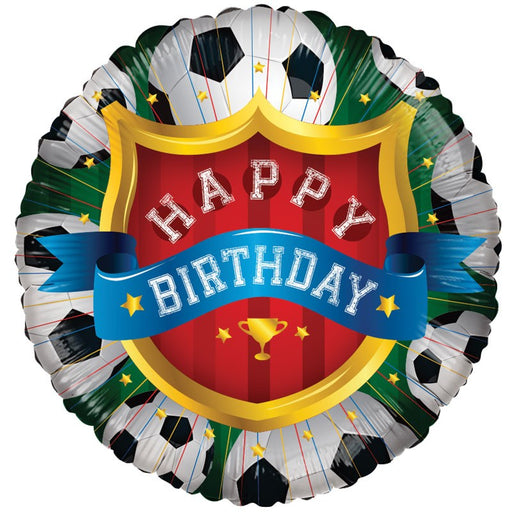 Football Birthday Foil Balloon